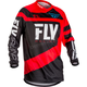 Youth Red/Black F-16 Jersey