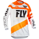 Youth Orange/White F-16 Jersey