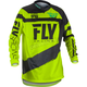 Youth Black/Hi-Vis F-16 Jersey