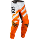 Youth Orange/White F-16 Pants