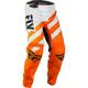 Youth Orange/White F-16 Pants