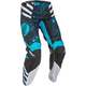 Youth Girl's Blue/Black Kinetic Pants