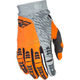 Gray/Orange Evolution 2.0 Gloves