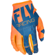 Youth Orange/Navy Kinetic Gloves