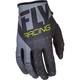 Youth Black/Gray/Hi-Vis Kinetic Gloves