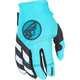 Women's Blue/Teal/White Kinetic Gloves