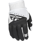 Youth White/Black F-16 Gloves