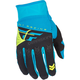 Youth Blue/Black F-16 Gloves