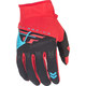 Youth Red/Black F-16 Gloves