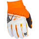 Youth Orange/White F-16 Gloves