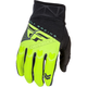 Youth Black/Hi-Vis F-16 Gloves
