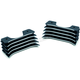 Black/Machined Spark Plug Covers - 7184