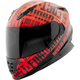 Red/Black Fast Forward SS1310 Helmet