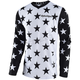 White/Black GP Star Jersey
