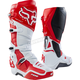White/Red Instinct Boots