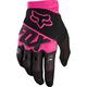 Black/Pink Dirtpaw Race Gloves
