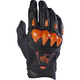 Black/Orange Bomber Gloves
