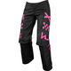 Women's Black/Pink Switch Pants