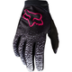 Youth Girl's Black/Pink Dirtpaw Gloves