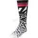 Youth  Girl's Black/Pink MX Socks