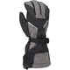 Black/Dark Gray Klimate Gloves