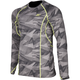Camo Gray Aggressor 1.0 Base Layer Shirt