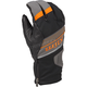 Dark Gray/Orange PowerXross Gloves