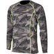 Camo Gray Aggressor 3.0 Base Layer Shirt