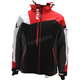 Black/Red/White Weave Renegade X Jacket