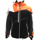 Black/Orange/White Weave Renegade X Jacket