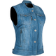 Women's Blue Glory Daze Denim Vest