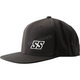 Black Straight Savage Hat - 884595