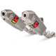 Titanium Slip-On Line Dual Mufflers - S-H4SO8-CIQTA