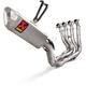 Evolution Line Titanium Exhaust System - S-H10E1-APLT