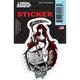 Reaper Girl Mini Decal - RC00093