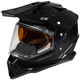 Black Mode Dual-Sport SV Snow Helmet