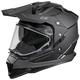 Matte Black Mode Dual-Sport SV Snow Helmet