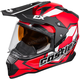 Red Mode Dual-Sport SV Team Snow Helmet
