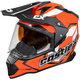 Flo Orange Mode Dual-Sport SV Team Snow Helmet
