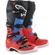 Fluorescent Red/Cyan/Grey/Black Tech 7 Boots