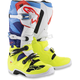 Fluorescent Yellow/White/Blue/Cyan Tech 7 Boots