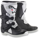Kids Black/White Tech 3S Boots