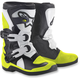 Kids Black/White/Yellow Tech 3S Boots