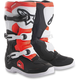 Youth Black/White Red Tech 3S Boots