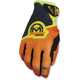 Youth Orange/Hi-Viz SX1 Gloves