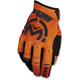 Orange/Black MX1 Gloves