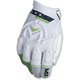 White/Green MX1 Gloves