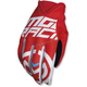 Red/White MX2 Gloves