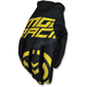 Black/Yellow MX2 Gloves