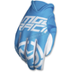 Blue/White MX2 Gloves
